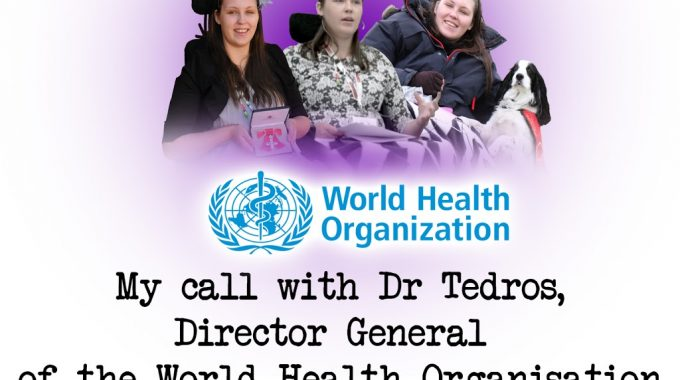 My Call With Dr Tedros, Director General Of The World Health Organisation