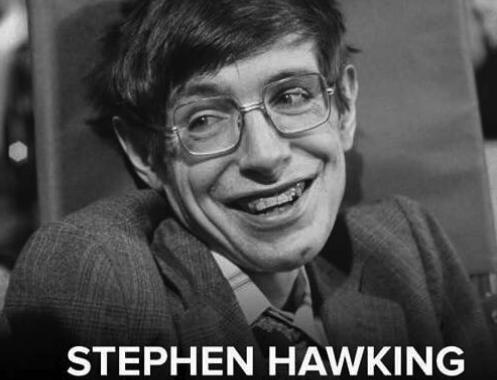 RIP Stephen Hawking; A Hero Of Mine