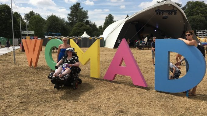 Our Trip To WOMAD With Festival Spirit & St Christopher's Hospice