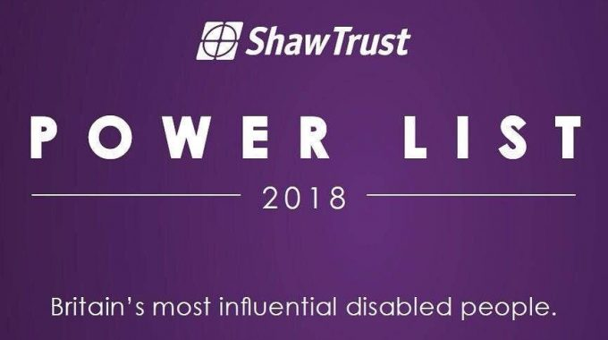 2018 Disability Power 100 List: Becoming One Of The Most Influential Disabled People In Britain