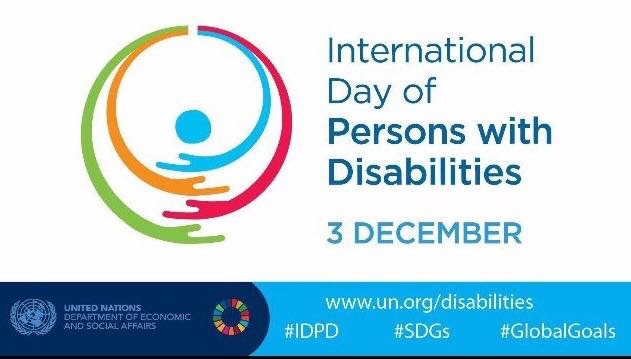 International Day Of Persons With Disabilities – 3rd December