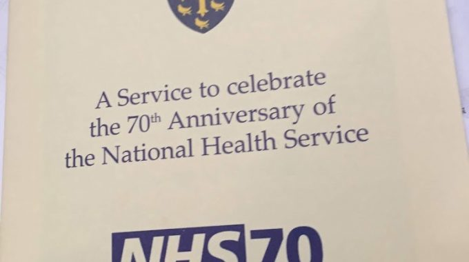 Happy 70th Birthday, NHS – Thank You For Keeping Me Alive