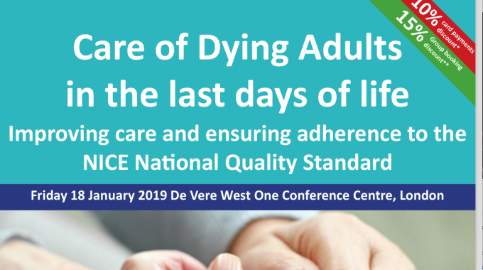 Care Of Dying Adults – Blog Adaption Of My Speech
