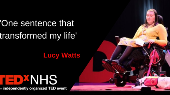 """My TEDxNHS Talk Is Live! """"One Sentence That Transformed My Life"""""""