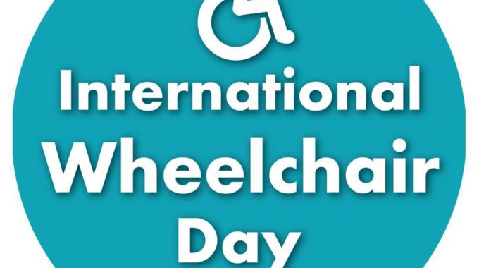International Wheelchair Day – 1st March 2020